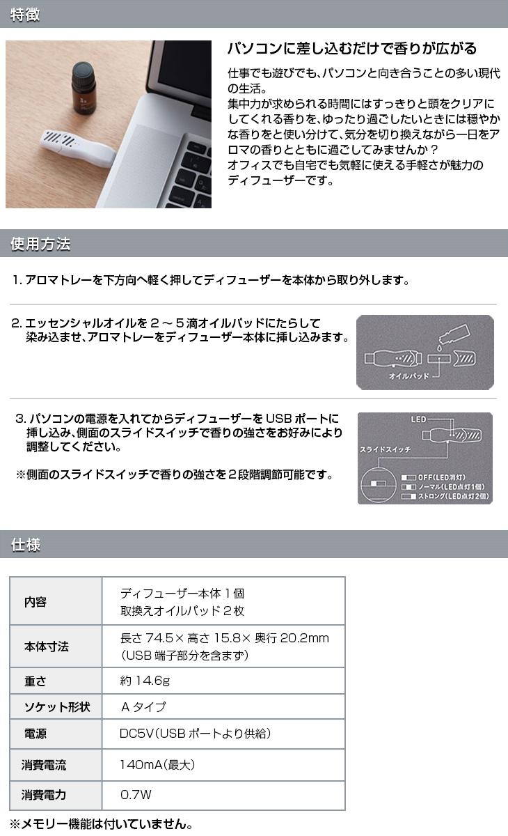 USBアロマタイム